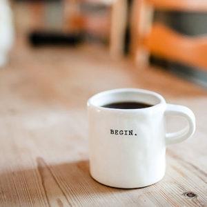 begin mug
