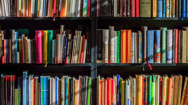 books in personal library